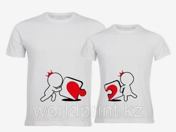 Печать на футболках к 14 февралю
