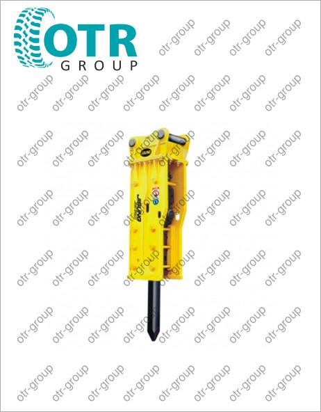 Гидромолот для гусеничного экскаватора Hidromek HMK 370 LC