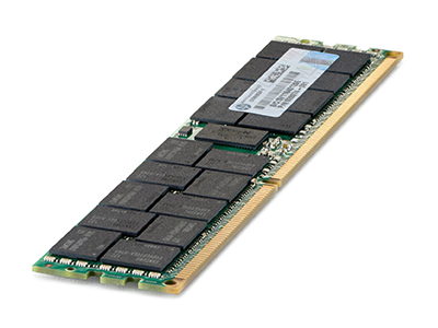Модуль памяти HPE 8GB (1x8GB) 1Rx8 PC4-2400T-R DDR4, 851353-B21