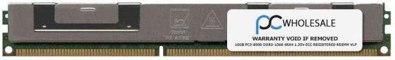 Оперативная память IBM 16GB 4RX4 PC3L-8500R ECC RDIMM, 90Y3223