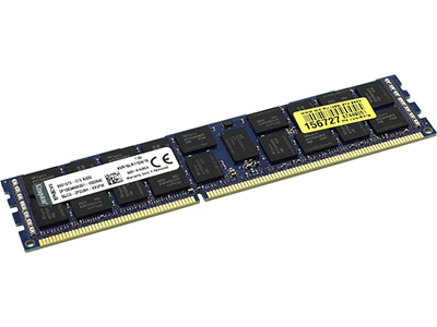 Оперативная память Kingston 16Gb DDR3L 1600MHz (PC3-12800) ECC DIMM