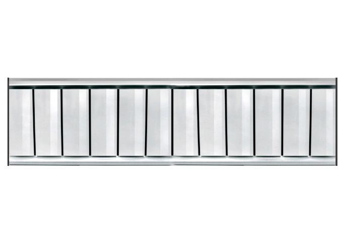 Алюминиевый радиатор отопления Tipido-200 - фото 2
