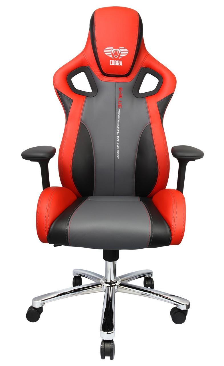 Игровое кресло E-BLUE Cobra EEC306REAA-IA RED/BLACK