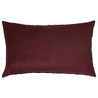 Чехол на подушку 40х65 САНЕЛА темно-красный ИКЕА, IKEA