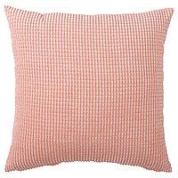 Чехол на подушку 50х50 ГУЛЛЬКЛОКА розовый ИКЕА Астана, IKEA Казахстан