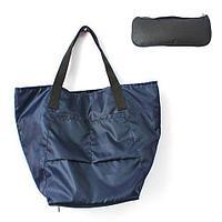 Сумка складная Magic Bag [25 л] с кармашками и чехлом (Темно-синяя)
