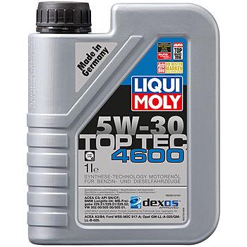 НС-синтетическое моторное масло Top Tec 4600 5W-30 1L, LIQUI MOLY
