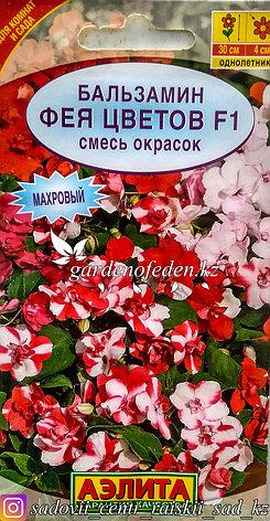 """Семена пакетированные Аэлита. Бальзамин """"Фея цветов F1, смесь окрасок""""., фото 2"""