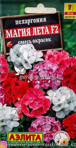 """Семена пакетированные Аэлита. Пеларгония """"Магия лета F2, смесь окрасок""""., фото 2"""