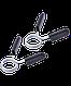 Гриф для штанги BB-104 прямой, d=25 мм, 120 см, с неопреновым покрытием, фото 5