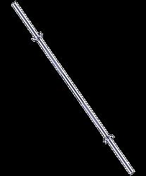 Гриф для штанги BB-103 прямой, d=25 мм, 150 см