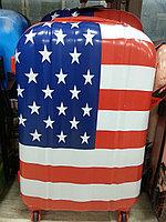 Чемодан пластиковый USA