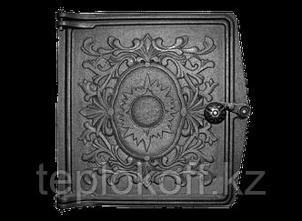 Дверь топочная ДТ-4 250x280 RLK 385, некрашеная (Рубцовск-Литком)