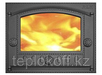Дверь каминная топочная ДК-2С 375х300 RLK 365, крашеная (Рубцовск-Литком)
