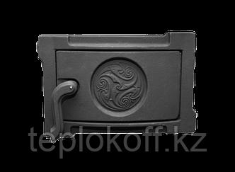 Дверь поддувальная уплотненная ДПУ-2Б 250х140 RLK 519, крашеная (Рубцовск-Литком)