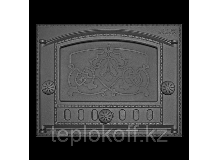 Дверь каминная топочная ДК-2Б 375х300 RLK 8314, крашеная (Рубцовск-Литком)