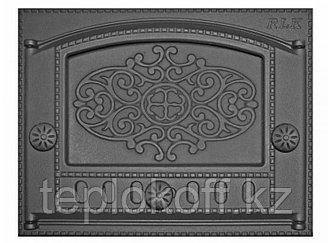 Дверь каминная топочная ДК-2Б 375х300 RLK 315, крашеная (Рубцовск-Литком)