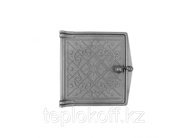 Дверь топочная ДТ-4 250x280 RLK 9217, некрашеная (Рубцовск-Литком)