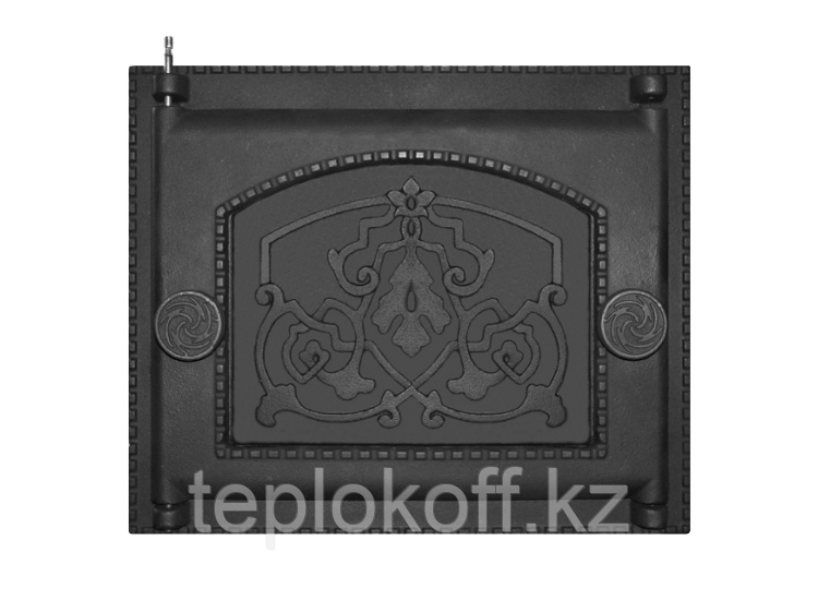 Дверь топочная ДТ-6А 282x240 RLK 8314, крашеная (Рубцовск-Литком)