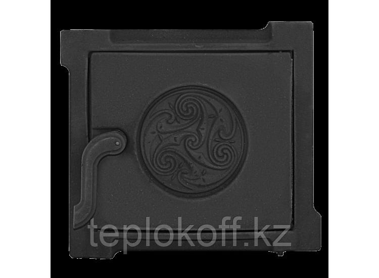 Дверь топочная уплотненная ДТУ-3А 250x210 RLK 519, крашеная (Рубцовск-Литком)