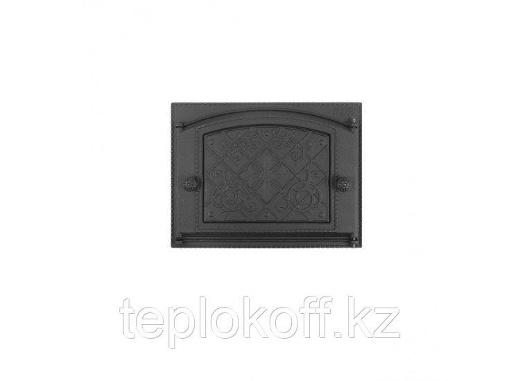 Дверь каминная топочная ДК-2В 375х300 RLK 9217, крашеная (Рубцовск-Литком)