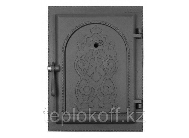 Дверь каминная топочная уплотненная ДКУ-9 290х410 RLK 8314, крашеная (Рубцовск-Литком)