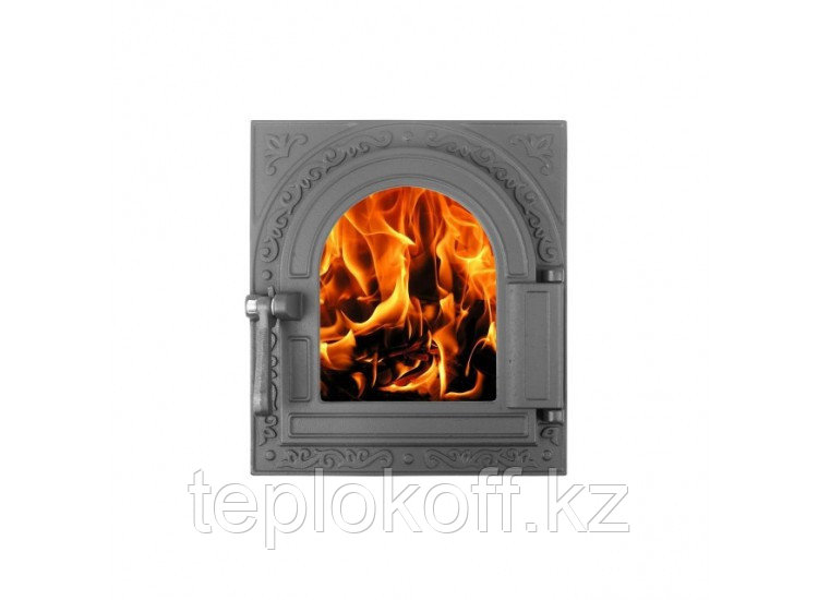 Дверь топочная герметичная ДТГ-11С ОЧАГ-2 250x290, крашеная (Рубцовск-Литком)