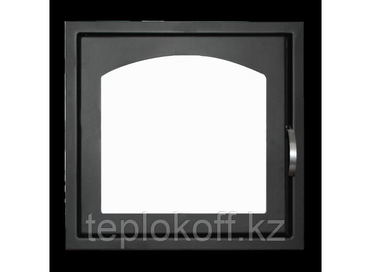 Дверь каминная ДК555-1А (Мета)