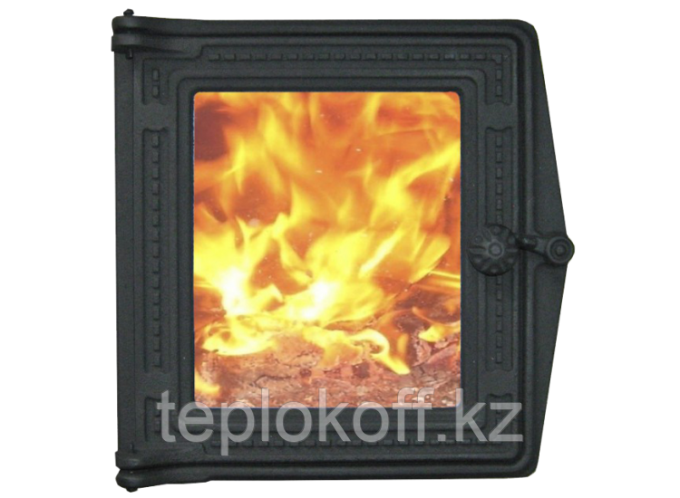 Дверь топочная ДТ-4С 250x280 RLK 517, крашеная (Рубцовск-Литком)