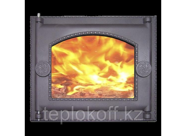 Дверь топочная ДТ-6АС 282x240 RLK 365, крашеная (Рубцовск-Литком)