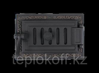 Дверь поддувальная герметичная ДПГ-2Е ОЧАГ 250х140, крашеная (Рубцовск-Литком)