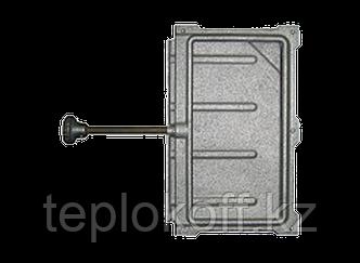 Задвижка печная 3В-2А 130х260, некрашеная (Рубцовск-Литком)
