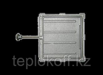 Задвижка печная 3В-5А 240х260, некрашеная (Рубцовск-Литком)