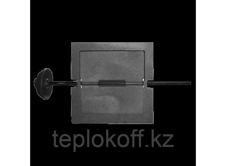 Задвижка печная 3ВП-2 поворотная 270х270, некрашеная (Рубцовск-Литком)