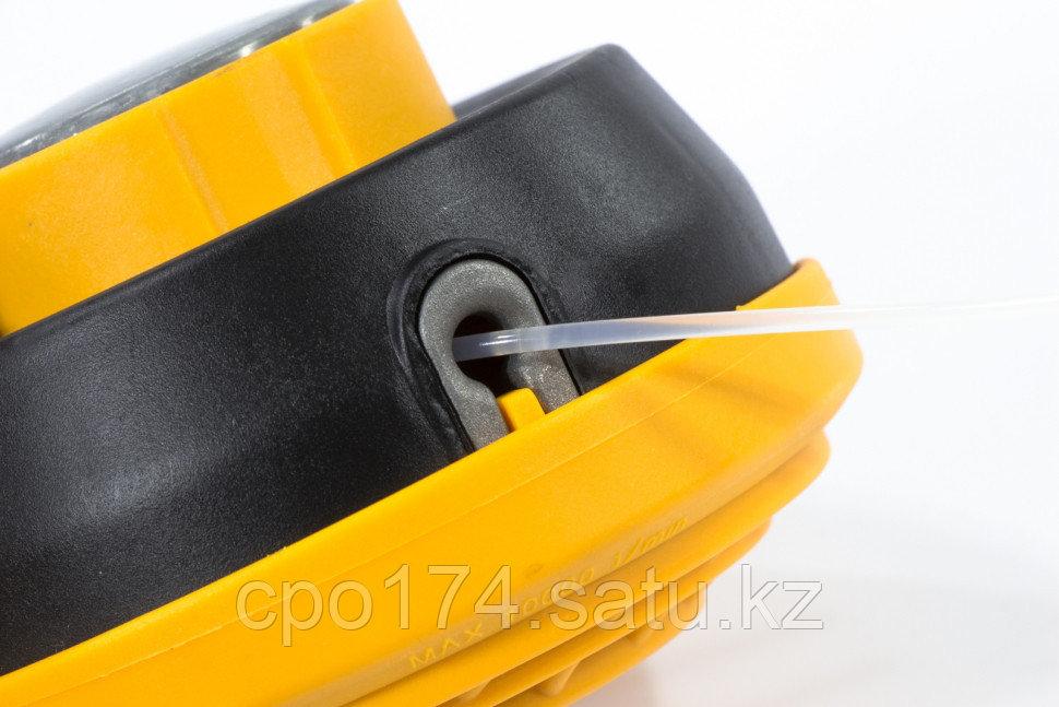 Катушка триммерная полуавтоматическая, легкая заправка лески, гайка M10x1,25, винт M10-M10, подшипник DENZEL - фото 3