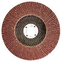 Круг лепестковый торцевой КЛТ-1, зернистость P 36(50Н), 115 х 22,2 мм, (БАЗ) Россия