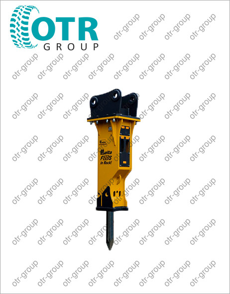Гидромолот для гусеничного экскаватора Komatsu PC160-7
