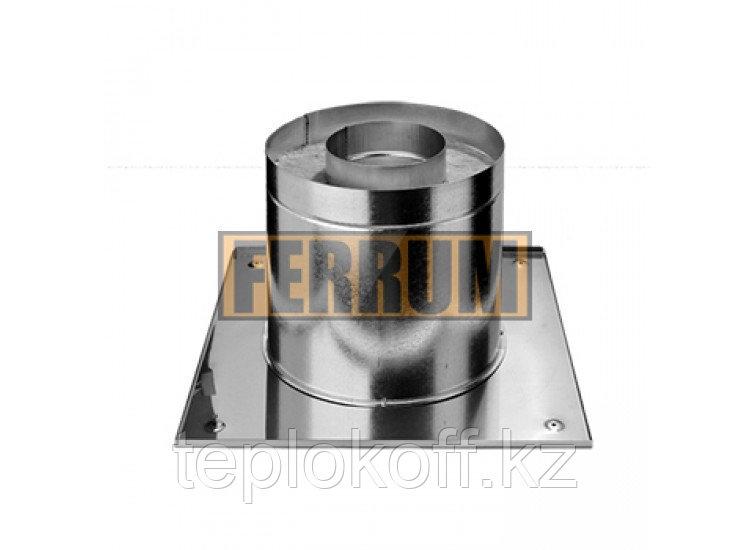 Потолочно-проходной узел Термо D=200, AISI 430, 0,5мм (Феррум)