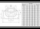 Потолочно-проходной узел Термо D=200, AISI 430, 0,5мм (Феррум), фото 2