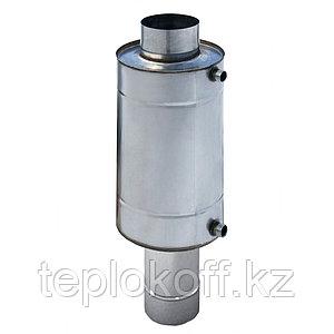 Теплообменник 7 л, ф 130, нержавейка, 0,8 мм