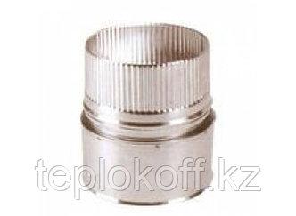 Переход D=-80Пх115М по воде, AISI 430, 0,5 мм (Феррум)