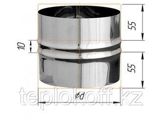 Адаптер ПП для печи D=115, AISI 430, 0,5мм (Феррум)