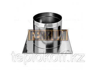 Потолочно-проходной узел D=120, AISI 430, 0,5мм (Феррум)