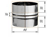 Адаптер ПП для печи D=120, AISI 430, 0,5 мм (Феррум)