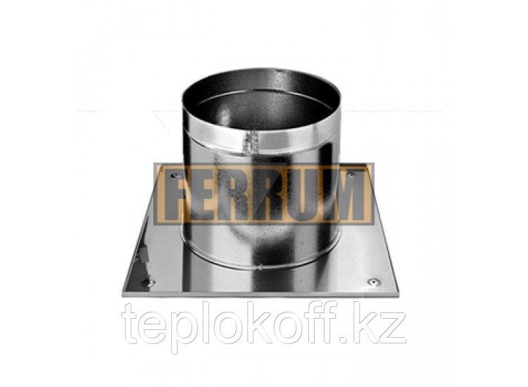 Потолочно-проходной узел D=150, AISI 430, 0,5мм (Феррум)
