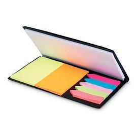 Стикеры цветные и блокнот, MEMOFF
