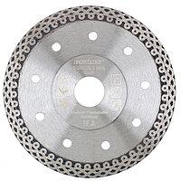 Диск алмазный ф 115х22,2 мм., тонкий, сплошной (Jaguar), мокрое резание GROSS