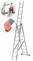 Универсальная лестница трехсекционная, 3 х 12 перекладин KRAUSE TRIBILO