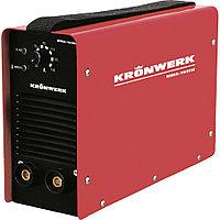 Аппарат инверторный дуговой сварки ММА-180IW, 180 А, ПВР 60%, OE электрода 1,6-4 мм, провод 2 метра KRONWERK