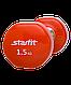 Гантель виниловая DB-101 1,5 кг, оранжевая, фото 2